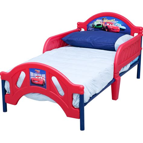 disney car bed disney cars toddler bed walmart com