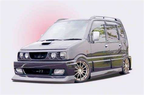 32a124312 148 000 1 Set With wagon r mc22 21 move l900 910s エアロパーツ