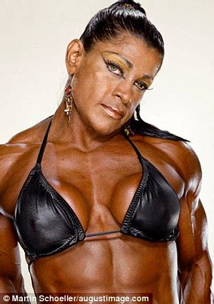 female bodybuilders, captured by photographer martin