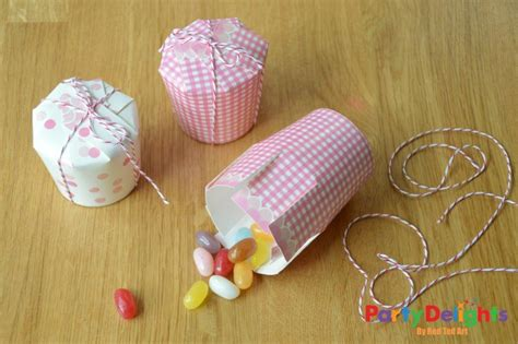 Simple Crafts Using Paper - paper cup crafts favour boxes delights