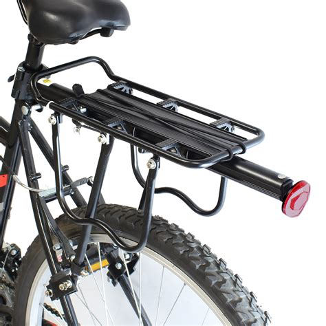 Bicycle Rear Rack by Pedalpro Strong Alloy Rear Bicycle Pannier Bag Luggage Rack Reflector Bike Cycle Ebay