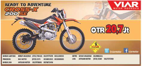 info nih buat yang hobi adventure ada motor cross harga 20 jutaan cari tau
