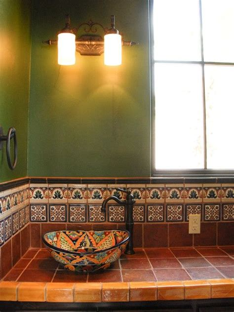 southwestern bathroom decor southwestern style decorating ideas and kitchens on pinterest