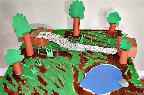 How To Make A River Out Of Paper - small world play africa safari nurturestore