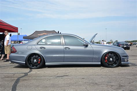 Mercedes In by Mercedes W211 E550 Stance Benztuning