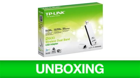 Sale Tp Link Tl Wdn3200 N600 Wireless Dual Band Usb Adapter tp link n600 wireless dual band usb adapter tl wdn3200 unboxing