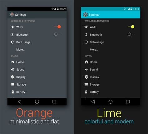 themes for rooted android lollipop lollipop android l theme for cm11 pa android material design