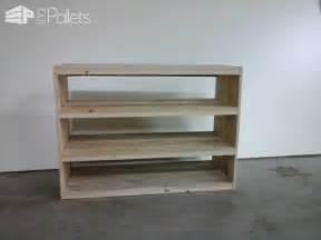 Etag 232 Re En Bois De Palette Pallet Shoes Shelf Pallet