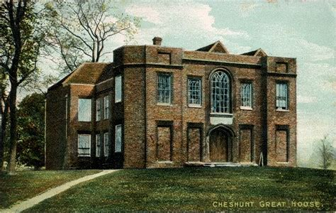 great house hertfordshire genealogy places cheshunt