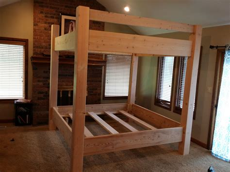 king bunk beds for adults custom bunk bed king king unstained king bunk beds