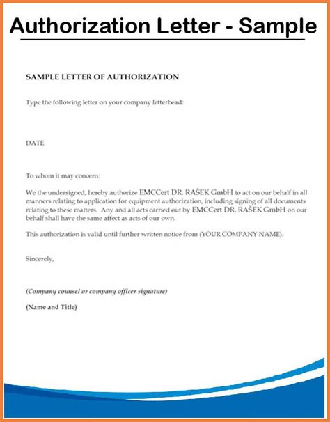 how to write an authorization letter for transcript letters of authorization credit card authorization letter