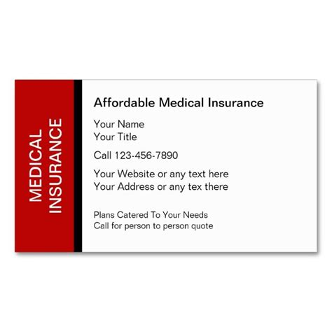 Insurance Business Card Templates Free by 2183 Best Health Business Card Templates Images On
