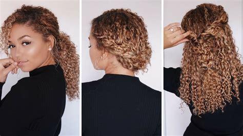 super easy hairstyles  bc curly hair bella kurls