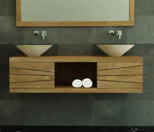 achat meuble de salle de bain brehat walk meuble en teck