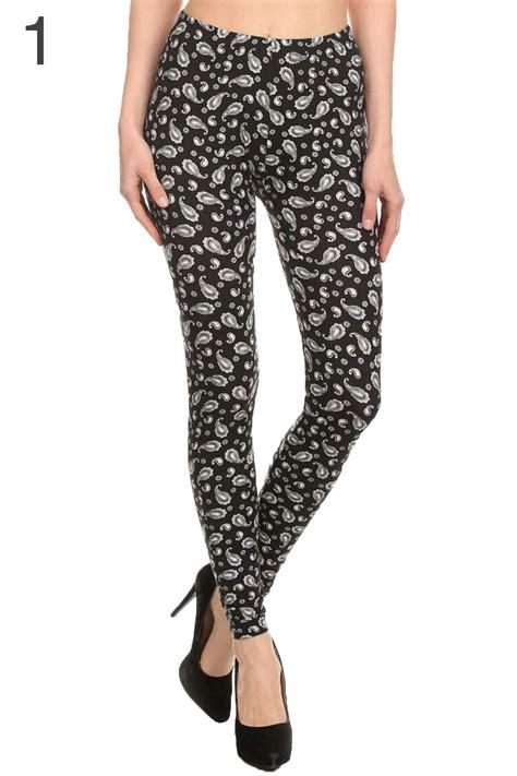 pattern stretch leggings womens print leggings fashion pattern stretch pant skinny