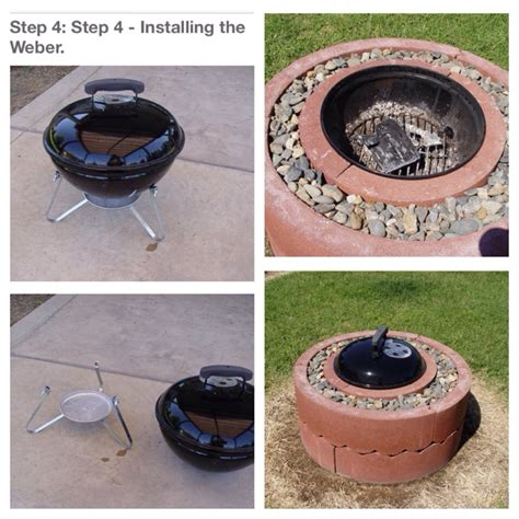 diy pit with tree rings pit using concrete tree rings musely