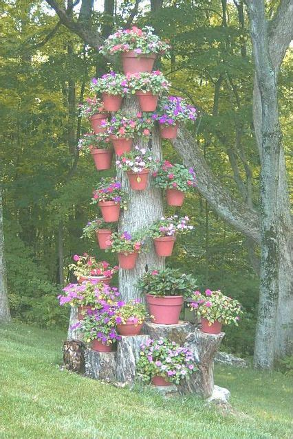 what to do with plant stump as christmas decoration outdoors 60 impressive stumpery garden decorations creative and landscaping ideas potted trees