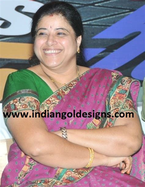 telugu actress sudha telugu actress sudha in gold bangles and black beads