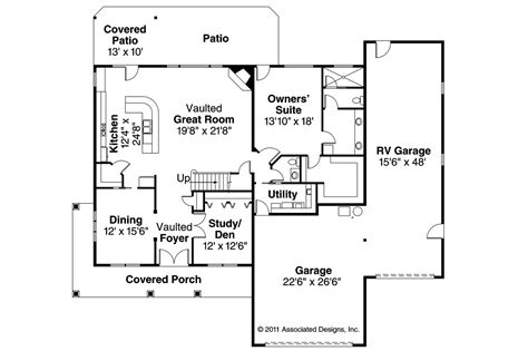 Traditional Floor Plans Traditional House Plans Claredon 30 564 Associated Designs