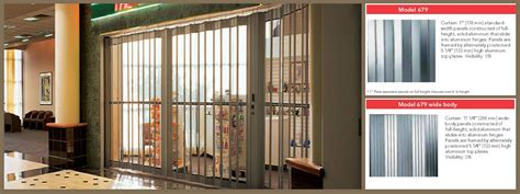 Overhead Door Security Grilles Security Grilles 679 Series By Overhead Door Corporation