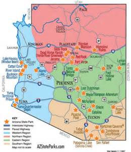 arizona rv parks map arizona rv parks map