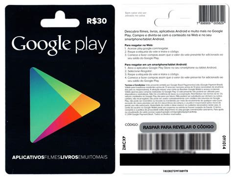 Gift Card Google Play Comprar - gift card google play dfgames