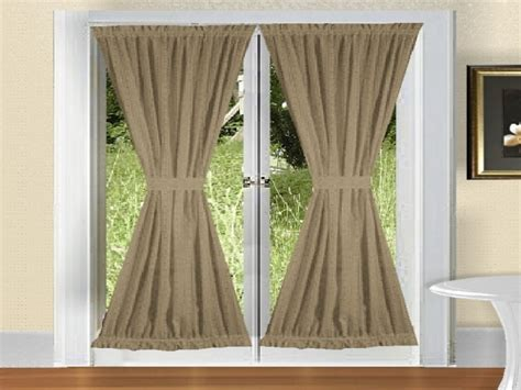 door curtain panels french blackout panel curtains curtain rods for french doors