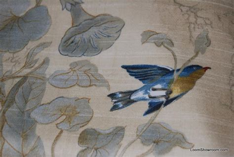 bird upholstery fabric watercolor songbirds beautiful illustrated hand colored