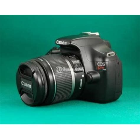 Kamera Canon Dslr Bekas kamera dslr canon eos 1100d x50 kit lensa bekas harga murah yogyakarta dijual tribun