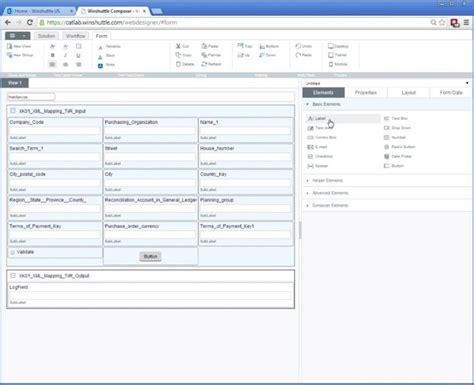 pengertian layout form columnar optimierte sap prozesse mit dem winshuttle composer