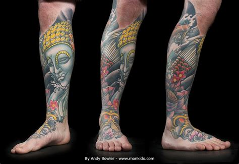 japanese leg tattoo monki do studio october 2013