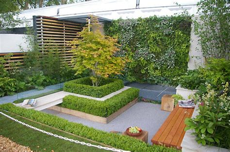 Small Urban Garden Design Ideas Quiet Corner Small Home Garden Design