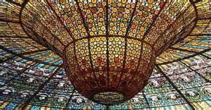 Glass Pavilion palau de la m 250 sica catalana in barcelona