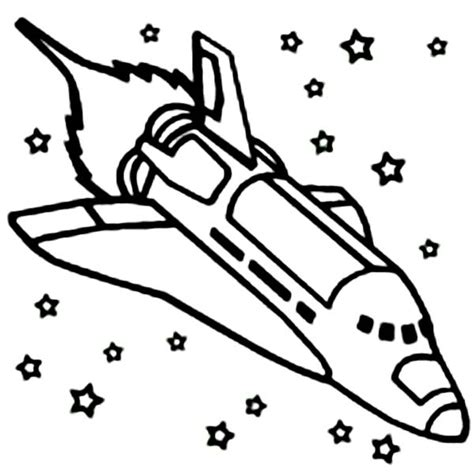 space shuttle coloring pages free coloring pages