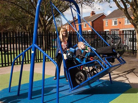wheelchair accessible swing wheelchair accessible swings are now a reality rolling