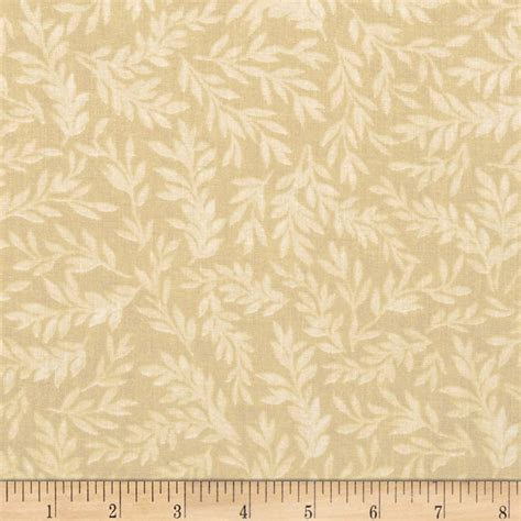 Quilt Back Fabric by 108 Quot Wide Tonal Leaf Quilt Back Beige Discount Designer Fabric Fabric