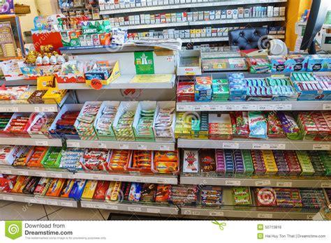 int 233 rieur de magasin de station service photo 233 ditorial