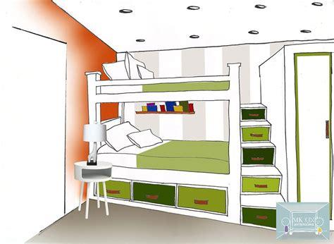 bedroom drawing for kids children s interiors hani s bedroom