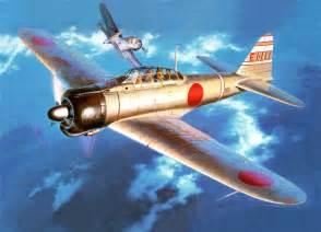 Mitsubishi Aircraft Ww2 Japan World War Ii Zero Mitsubishi Airplane