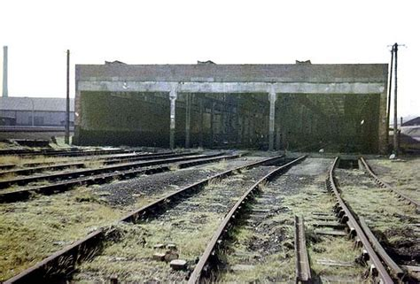 Loco Shed by Disused Stations Widnes Locomotive Shed