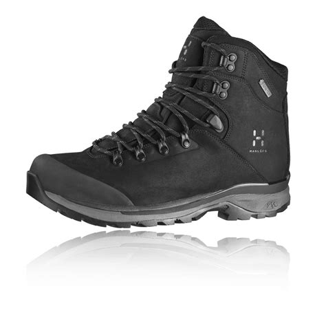 haglofs oxo mens black waterproof tex trail walking
