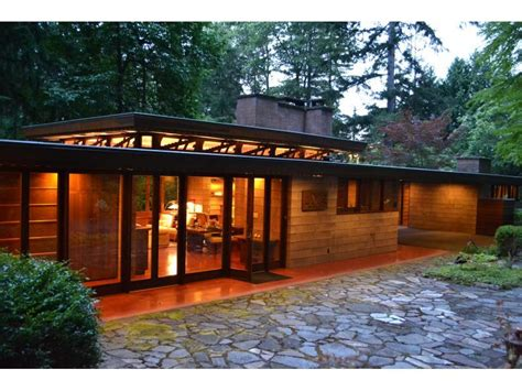 Frank Lloyd Wright Prairie Style House Plans Frank Lloyd Wright Home In Sammamish Washington House