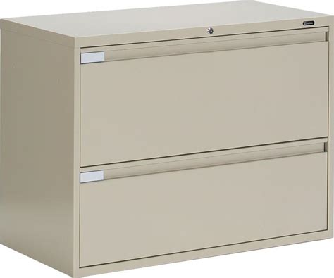 2 drawer metal file cabinet global metal 2 drawer office lateral file cabinet ebay