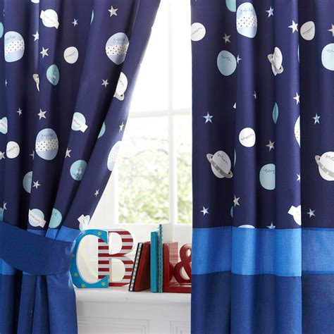 Media Room Blackout Curtains The Most Perfect D 233 Cor Ideas For An Space Themed Bedroom