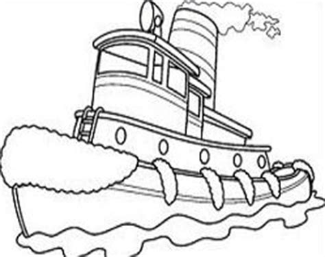 houseboat clipart black and white tug boat black clipart