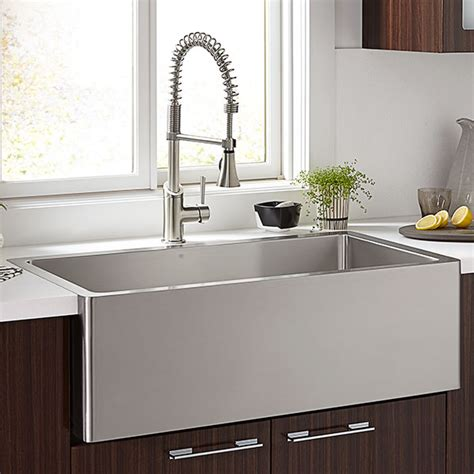 kitchen sink steel kitchen farm sinks hillside 36 inch wide stainless steel
