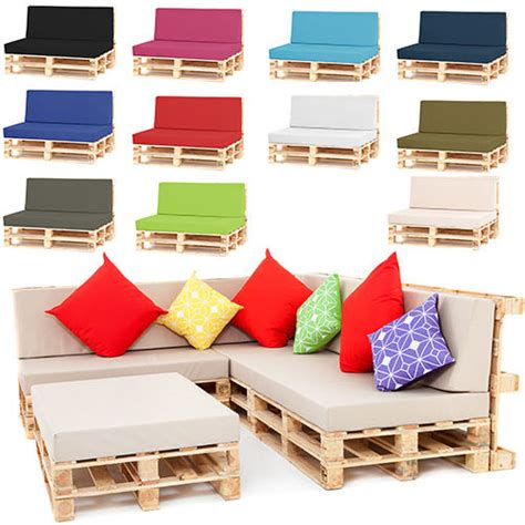 Pallet Seating Garden Furniture DIY Trendy Foam Cushions