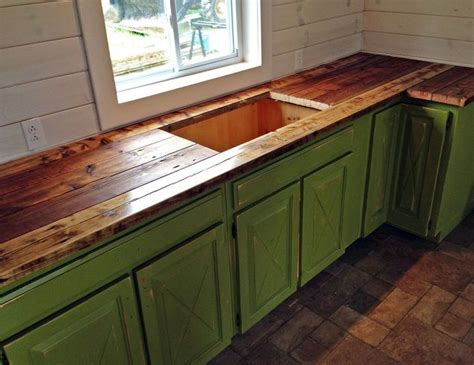 diy rustic wood countertops rustic kitchenette made from various peices of furniture hometalk