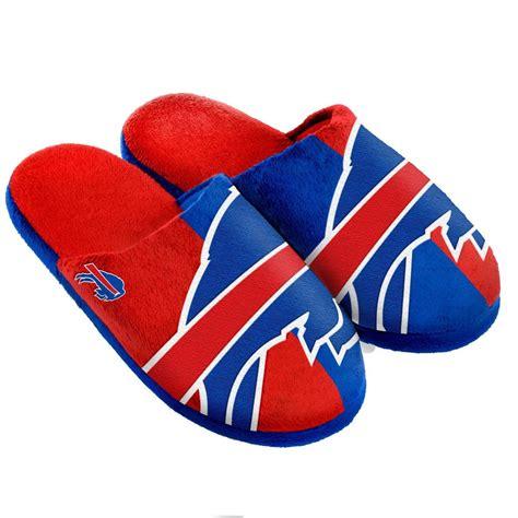 buffalo bills slippers pair buffalo bills big logo slippers new split color