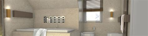 bad mit schräge badewanne in schrage ein bad mit schr 228 ge die perfekte